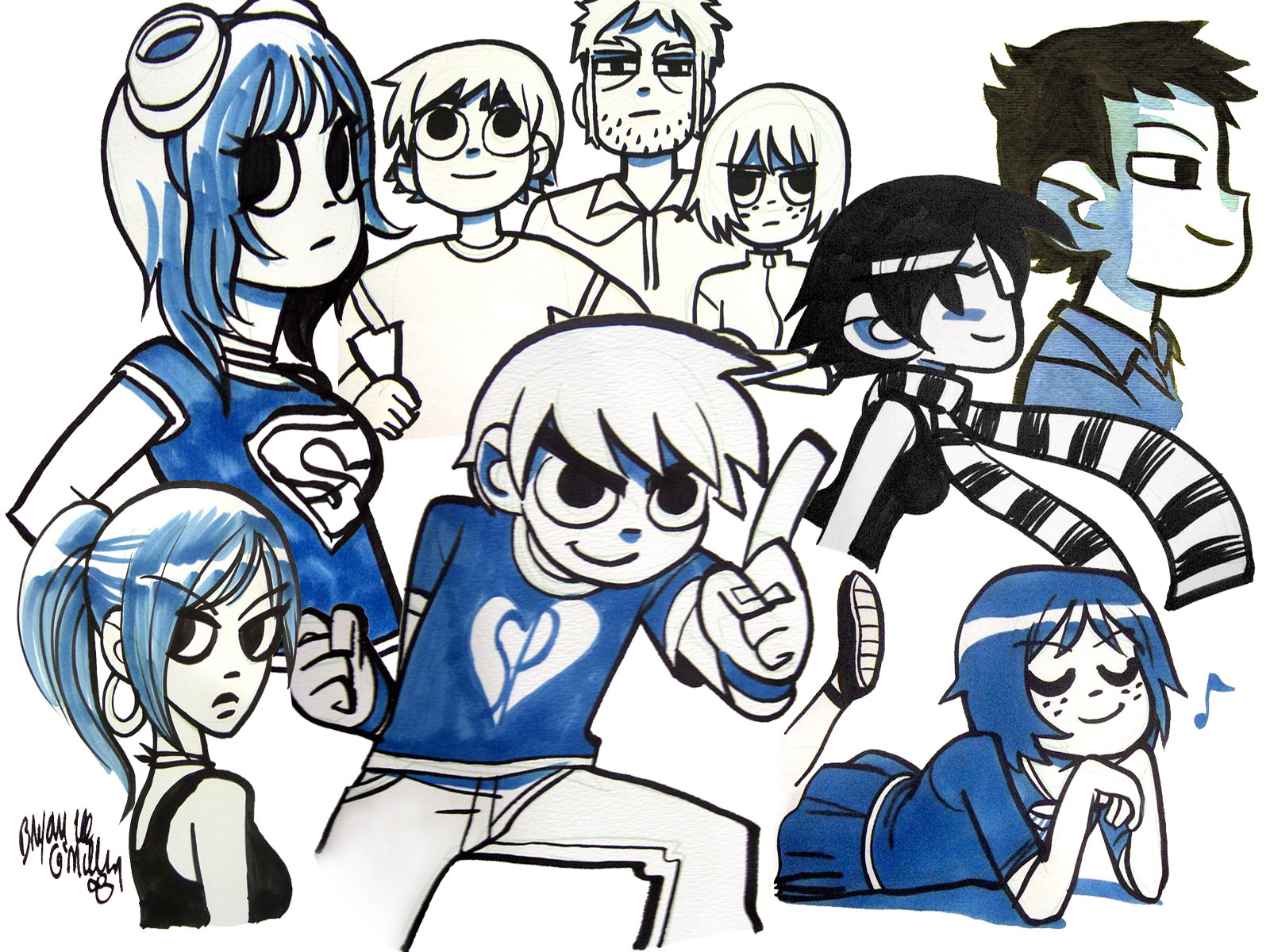 Podcast 001. «Scott Pilgrim» y otras obra de Brian Lee O´Malley