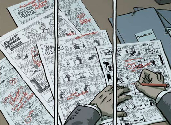 Podcast 005. «Monográfico. Comics sobre dibujantes»