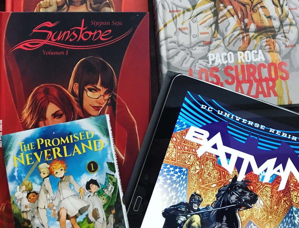 Podcast 008: Recomendaciones («Sunstone», el Batman de Tom King, «Los surcos del azar» y «The promised Neverland»)