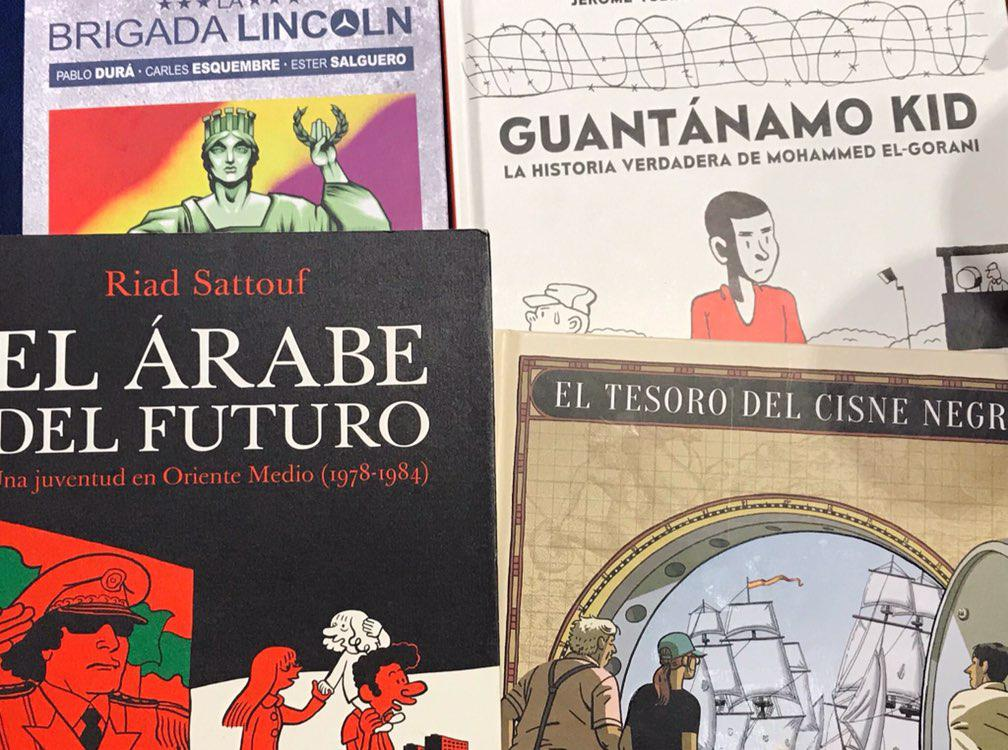 Podcast 012: Recomendaciones («El tesoro del cisne negro»,»El árabe del futuro», «Guatanamo Kid», «La brigada Lincoln»)